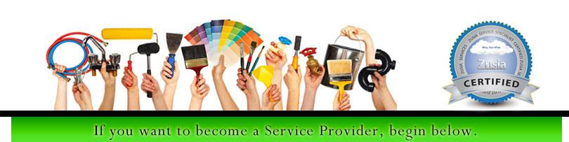 Become a service provider